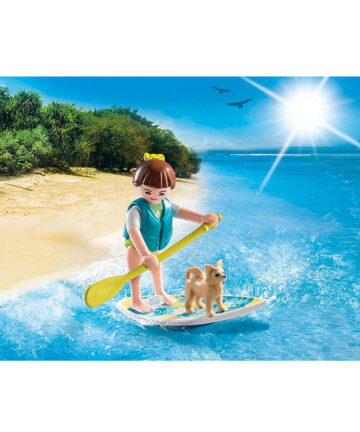 Playmobil Special Plus Κορίτσι με σανίδα Sup (9354)