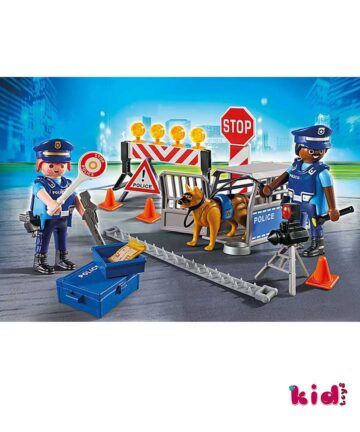 Playmobil City Action, Oδόφραγμα Aστυνομίας, (6924), Παιδικά παιχνίδια, Kidtoys.gr