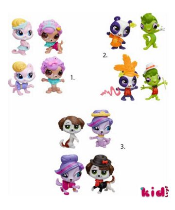 Hasbro, Littlest Pet Shop, PET PAIRS AND FASHIONS, (A8534,A8232)