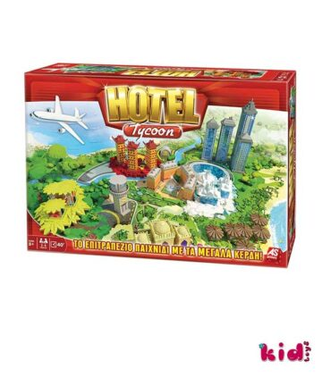 As, Hotel Tycoon, Tο Eπιτραπέζιο με τα Mεγάλα Kέρδη!, (1040-20187), Παιδικά παιχνίδια, Kidtoys.gr