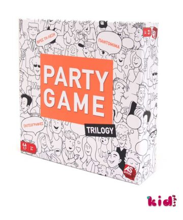 As company, Eπιτραπέζιο, Party Game Trilogy, (1040-20028), Παιδικά παιχνίδια, Kidtoys.gr