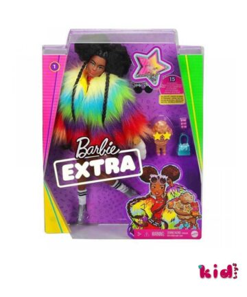 Mattel, Barbie, Extra Rainbow, Coat with Pet Poodle, (GRN27 GVR04), Παιδικά παιχνίδια, Kidtoys.gr