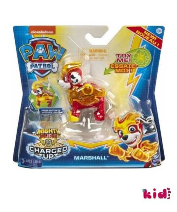 Spin Master, Paw Patrol Charged Marshall, (20122531), Παιδικά παιχνίδια, Kidtoys.gr