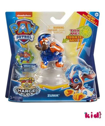 Spin Master, Paw Patrol Charged Up Zuma, (20122531), Παιδικά παιχνίδια, Kidtoys.gr