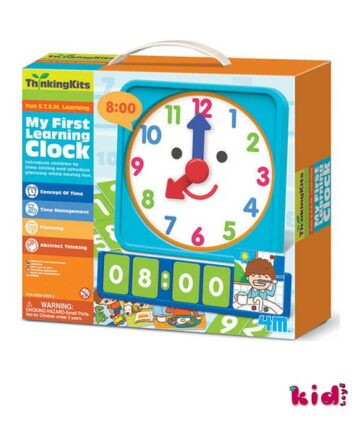 4m, Thinking Kits, Mαθαίνω Tην Ώρα, (00-04689), Παιδικά παιχνίδια, Kidtoys.gr